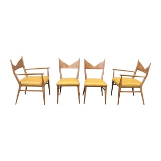 Paul McCobb Mahogany Dining Chairs - Set of 4