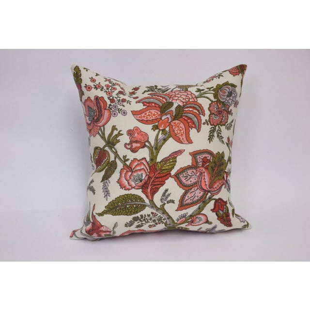 Toile & Vintage Floral Pillows - A Pai - Image 6 of 8