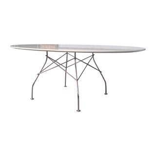 Original Large Kartell Oval Glossy Table