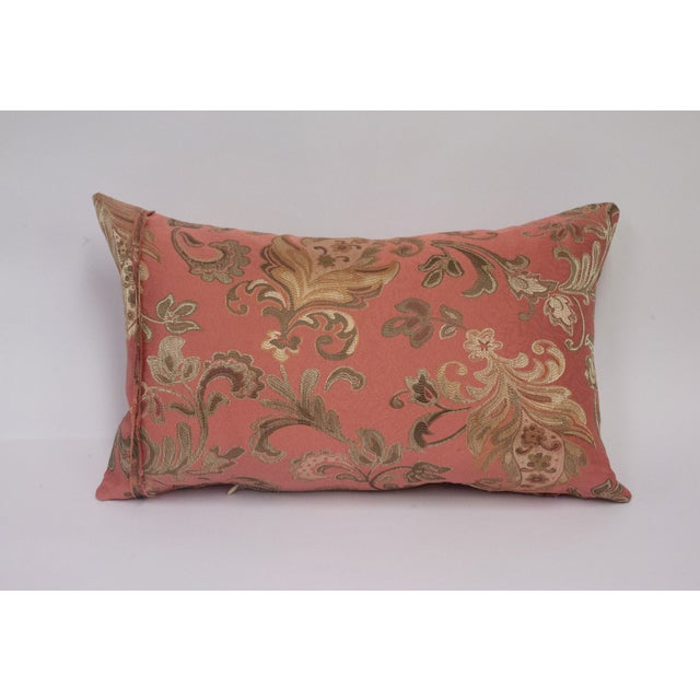 Pink and Gold Deconstructed Pillow - Image 3 of 5