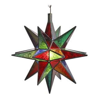 Moroccan Colorful Star Lamp