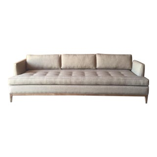 Mid Century Style Custom Sofa in Latte