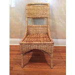 Image of Vintage McGuire Caned Side Chair