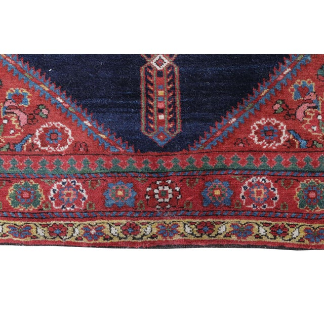 "Antique North West Persian Runner Rug - 3'5"" X 16'5"" - Image 3 of 5"