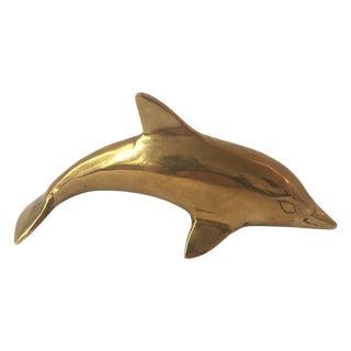 Vintage Brass Dolphin