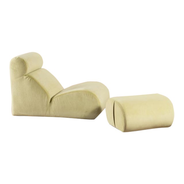 """Bobo"" Lounge Chair By Cini Boeri for Arflex - Image 1 of 5"