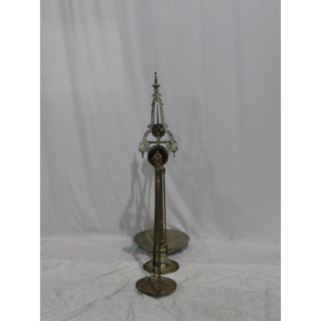 Image of Antique French Industrial Butcher Scale