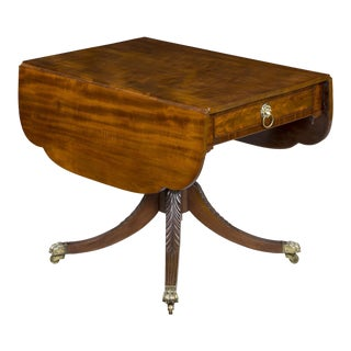 Mahogany Classical Drop Leaf Table