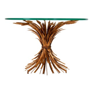 Petite Sheaf of Wheat Coffee Table