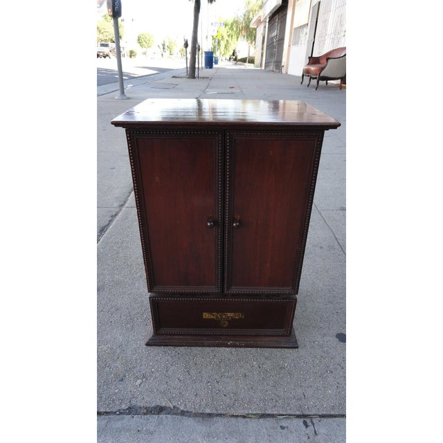 Gecophone Solid Mahogany Small Cabinet - Image 3 of 8