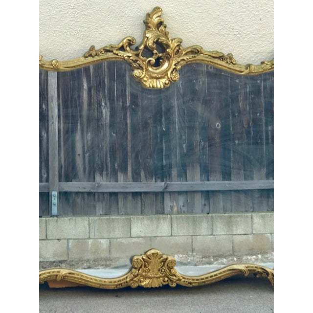 Antique Italian Baroque Gold Gilded Mirror - Image 4 of 11