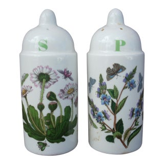 Portmeirion Salt & Pepper Shakers - A Pair