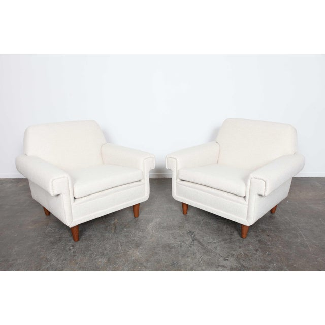 Pair of newly upholstered Swedish midcentury lounge chairs by Ire Mobel - Image 6 of 6