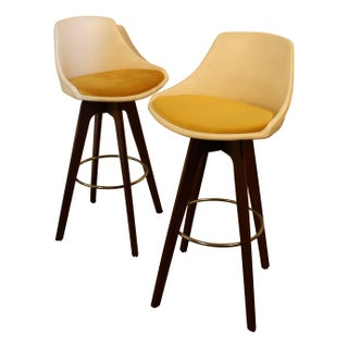 I.V. Corp John Yellen Bar Stools - A Pair