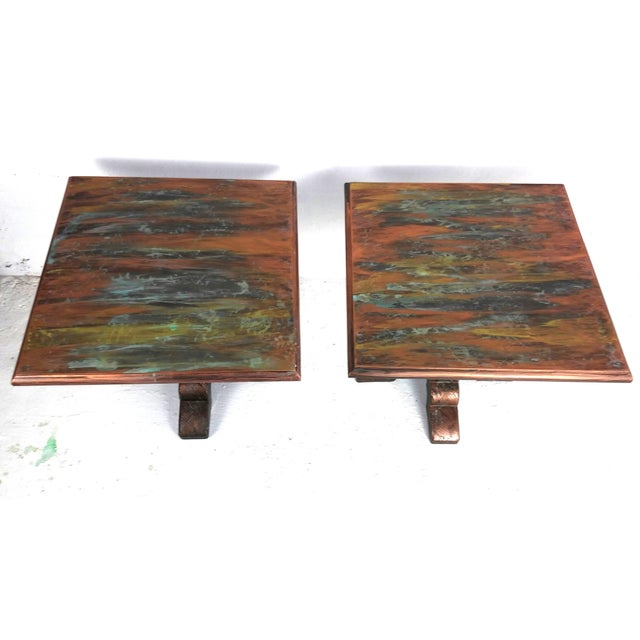 Image of Mid-Century Side Tables - A Pair