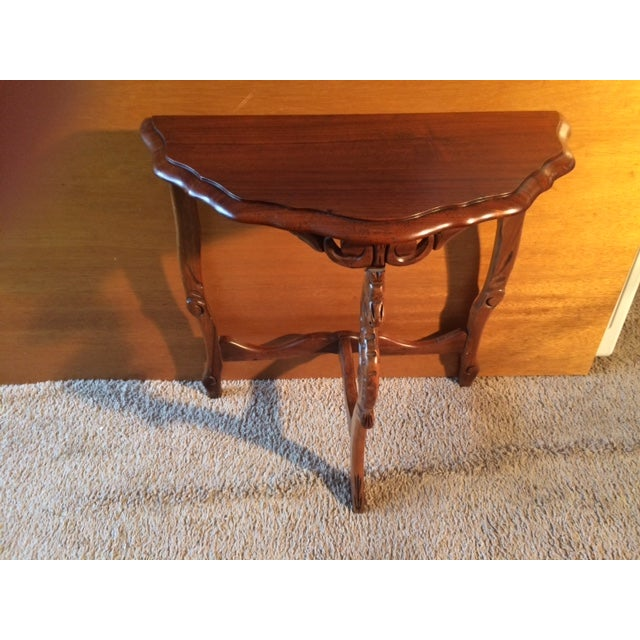 Victorian Carved Leg End Table - Image 3 of 5