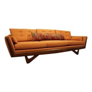 Mid-Century Danish Modern Adrian Pearsall Style Gondola Sofa