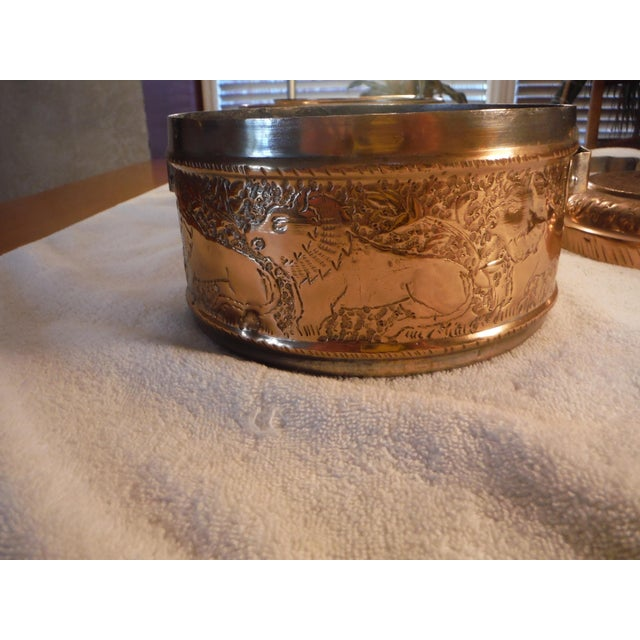 """Vintage Copper Clad """"Tiffin"""" or """"Dabba"""" - Image 8 of 9"""