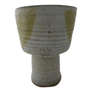 Mid-Century Studio Art Pottery Vase