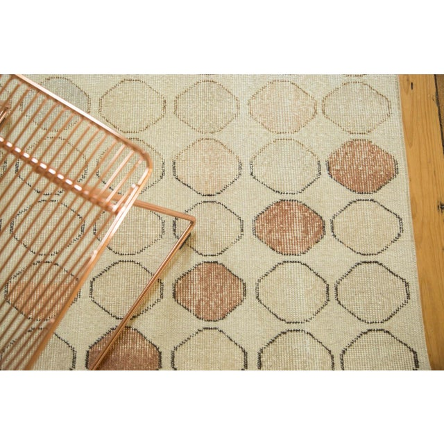 "Vintage Distressed Oushak Rug Runner - 3'3"" x 5'11"" - Image 6 of 9"