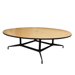 Charles and Ray Eames Round 8' Foot Conference Table by Herman Miller