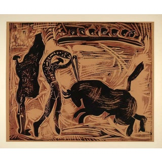 "Vintage Picasso Lithograph ""The Banderillas"""