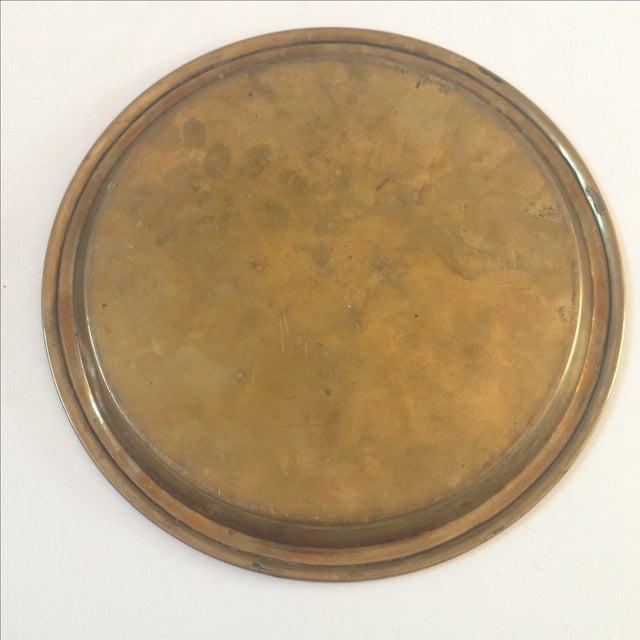 Vintage Brass Plate 26
