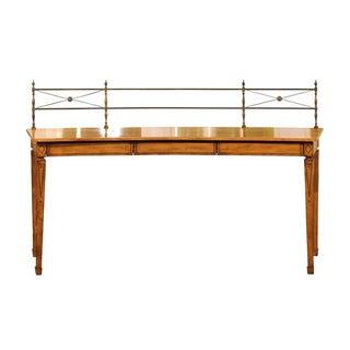 Neoclassical Satinwood Sideboard
