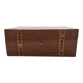 Walnut Tunbridge Ware Box