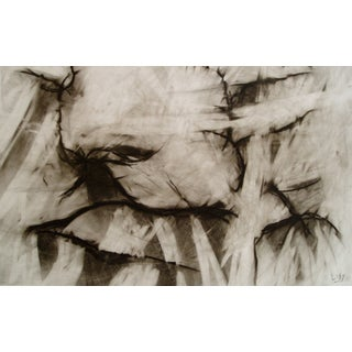 Original Charcoal Drawing - Conversation Alive