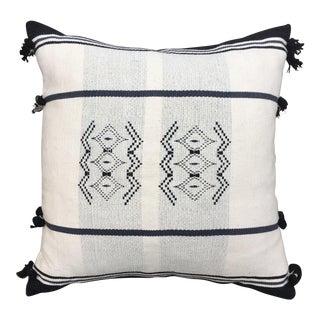 Black & White Nagaland Tribal Pillow