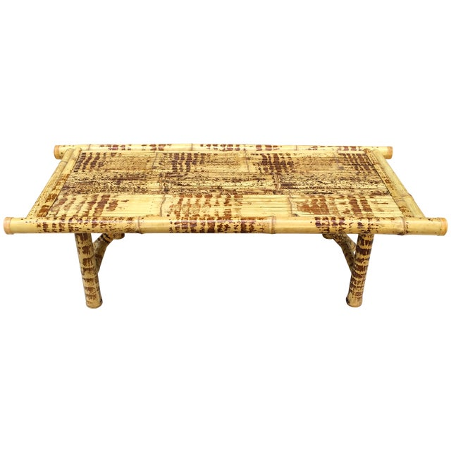 Burnt Bamboo Coffee Table - Image 1 of 5