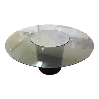 Glass & Wood Dining Table