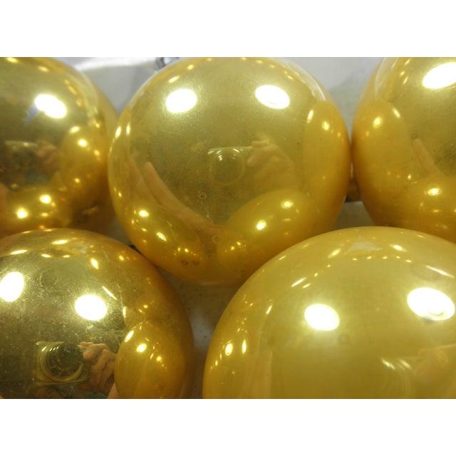 Polish Gold Glass Ornaments - Set of 10 - Image 3 of 3