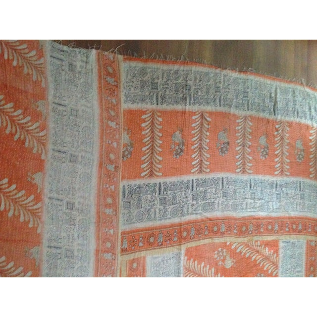 Vintage Indian Kantha Textile - Image 6 of 7