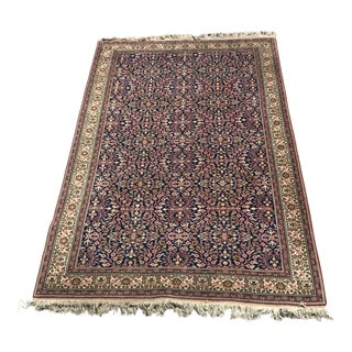 Turkish Blue & Blush Kayseri Rug - 6' x 9'