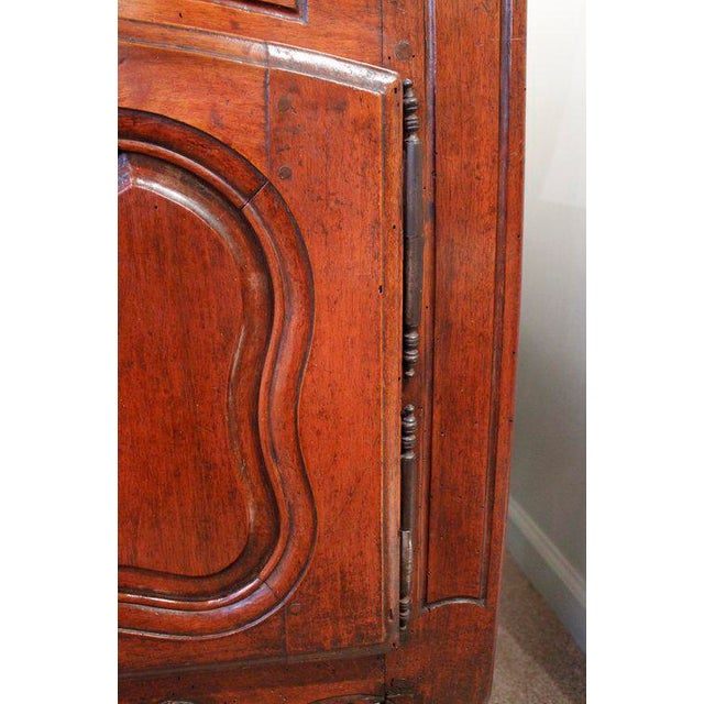 French Provençal Fruitwood Buffet With Carved and Pierced Skirt - Image 7 of 10