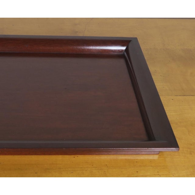 English Mahogany Tray - Image 4 of 7