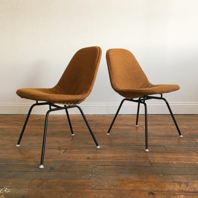 Herman Miller Eames Wire Chairs With Alexander Girard Covers - A Pair - Image 7 of 10