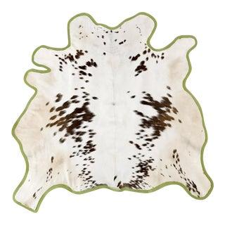 Brown & White Animal Hyde Rug