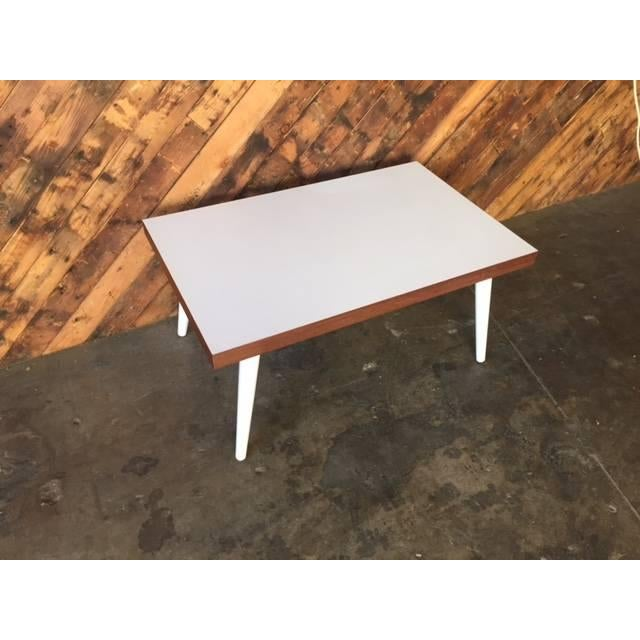 Mid-Century White Coffee Table - Image 6 of 7
