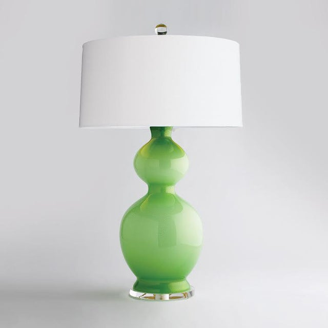 Jan Showers Venetian Series #4 Lamp in Oasis - Image 2 of 3