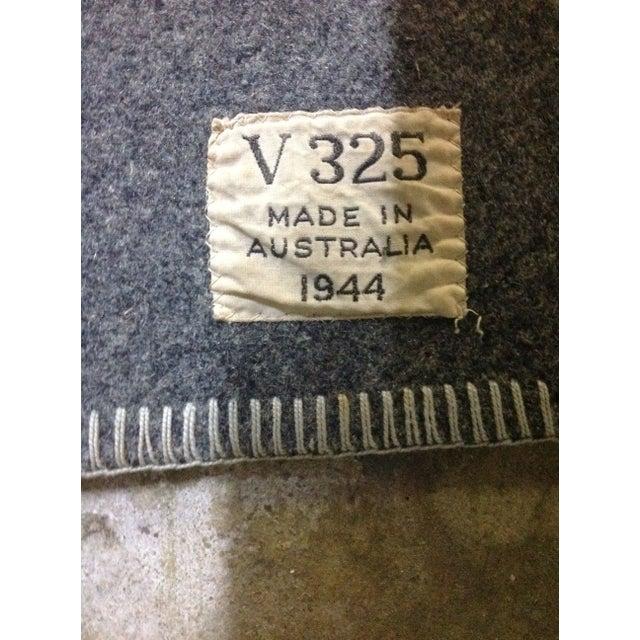 1944 Grey Wool Blanket - Image 4 of 7