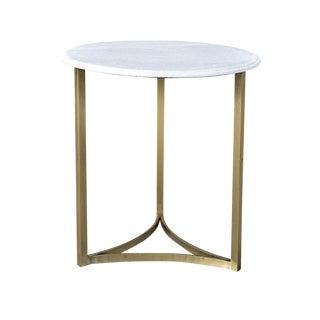 Vintage Marble Side Table