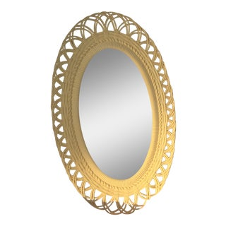 Vintage Burwood Shabby Chic Mirror