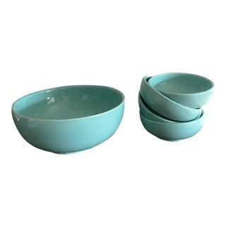 McCoy Pottery Bowls - Set of 5