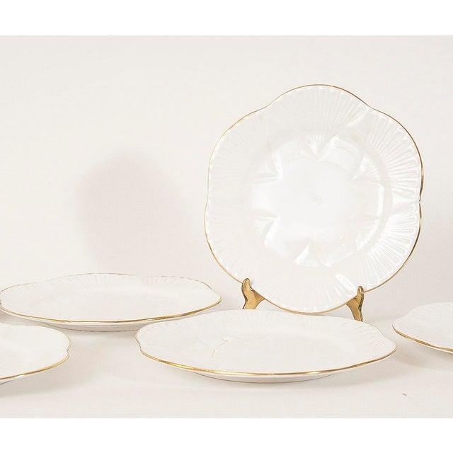 Vintage Shelley Fine Porcelain Dessert Plates -S/6 - Image 6 of 9