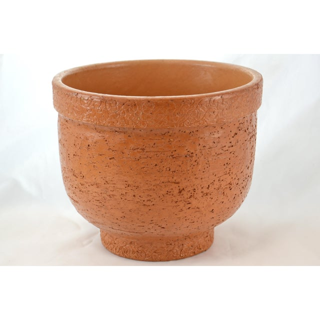 Italian Textured Terracotta Planter - Image 2 of 5