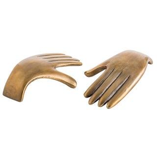 Arteriors Garnet Hand Sculptures - Set of 4