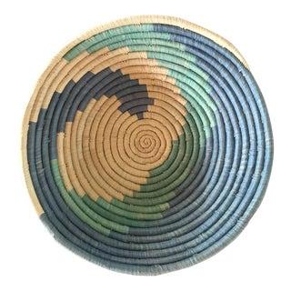 African Aqua & Blue Basket